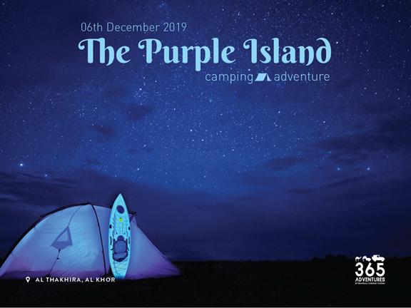 Purple Island Camping Adventure, biletino, 365 Adventures - Qatar
