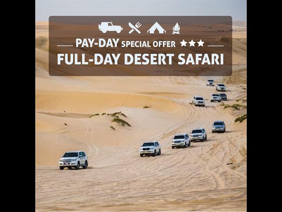 FULL DAY DESERT SAFARI SPECIAL PROMO - LIMITED EDITION, biletino, 365 Adventures - Qatar