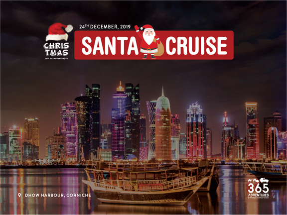Santa Cruise, biletino, 365 Adventures - Qatar