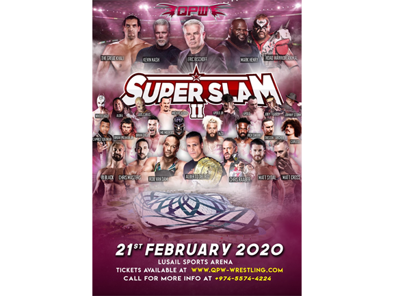 QPW SuperSlam 2, biletino, Qatar Pro Wrestling