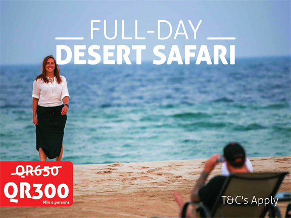 JANUARY OFFER - Full Day Desert Safari, biletino, 365 Adventures - Qatar