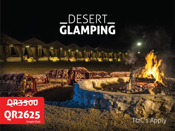 JANUARY OFFER - Desert Glamping, biletino, 365 Adventures - Qatar
