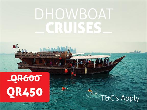 JANUARY OFFER - Dhow Boat Cruise, biletino, 365 Adventures - Qatar