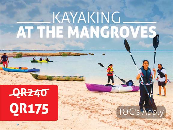 JANUARY OFFER - Kayaking at the Mangroves, biletino, 365 Adventures - Qatar