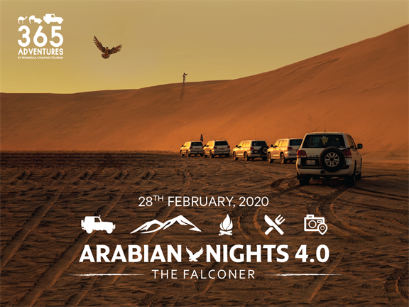 Arabian Nights 4.0 - The Falconer, biletino, 365 Adventures - Qatar