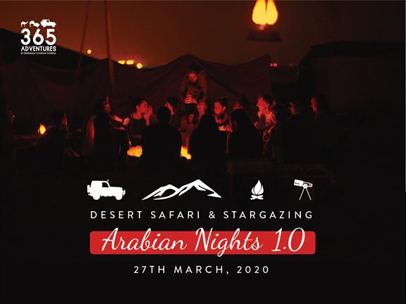 Arabian Nights 1.0 - Stargazing & Desert Safari, biletino, 365 Adventures - Qatar