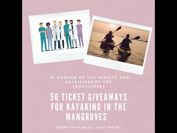 Free Kayaking for Frontliners, biletino, 365 Adventures - Qatar