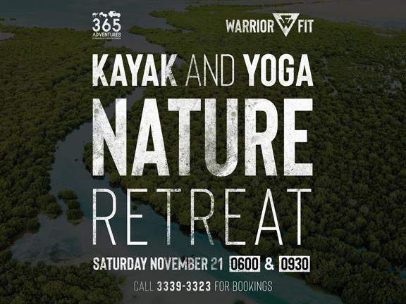 365 Adventures x Warrior Fit - Kayak & Yoga Eco-Retreat, biletino, 365 Adventures - Qatar