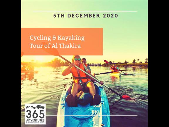 Cycling & Kayaking Tour of Al Thakhira , biletino, 365 Adventures - Qatar