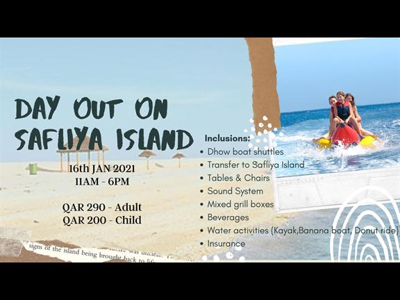 Day Out on Safliya Island, biletino, 365 Adventures - Qatar