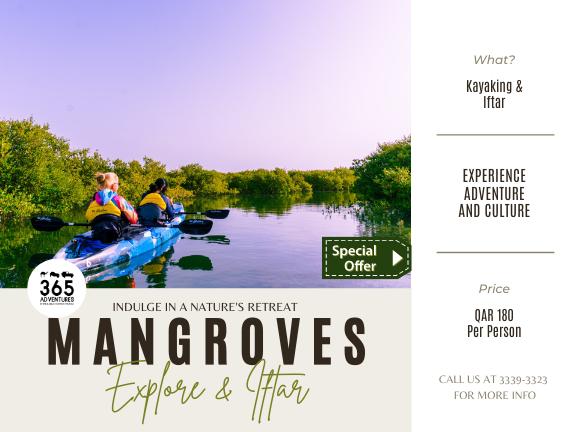 Ramadan Special - Kayaking & Iftar (Weekends), biletino, 365 Adventures - Qatar