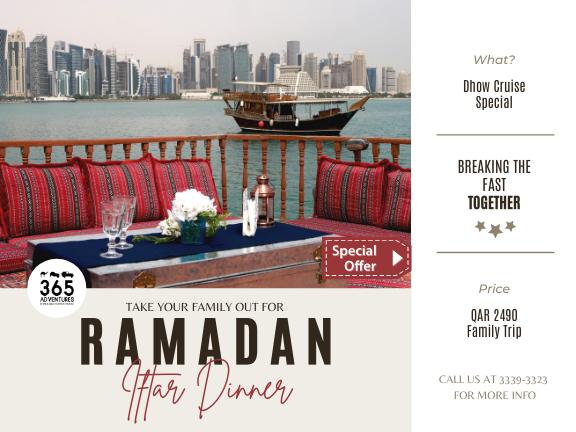 Ramadan Special - Floating Iftar, biletino, 365 Adventures - Qatar