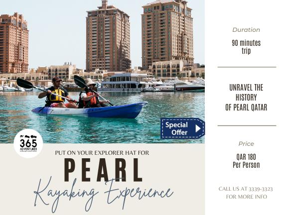 The Pearl Kayaking Experience, biletino, 365 Adventures - Qatar