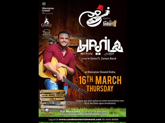 Hani Mitwasi Live in Doha, biletino, Candela Entertainment